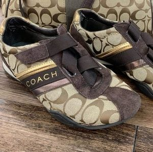 Signature Coach sneakers